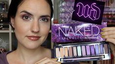 NEW Urban Decay Naked Ultraviolet Palette | Swatches, Tutorial + Review - YouTube Urban Decay Palette, Naked Palette, Highlighter Makeup, Concealer, Makeup Designs, Makeup Ideas, Face Facial, New City, Maybelline