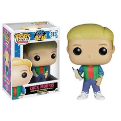 This is the Saved By The Bell POP Zack Morris Vinyl Figure that's produced by Funko. He looks fantastic and makes for a definitely unique POP Vinyl! It's great to see the characters of Saved By The Be