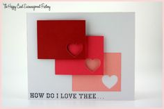 CAS card made with the All You Need is Love set from Punkin Patch stamps
