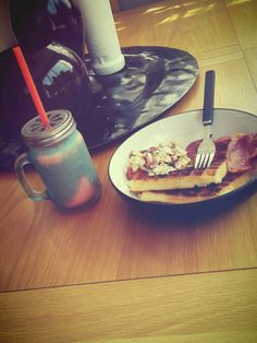 Have to have breakfast