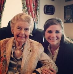 """This is my 5th year with Phyllis, and it's such an honor to work for such a remarkable woman. There's an entry from President Reagan's diary after a meeting with Phyllis that sums her up quite well: """"her strategy is brilliant... She's darned effective."""" May we continue to strive toward that high standard!"""