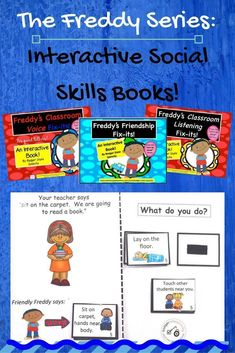 The Freddy Books provide interactive experience where your students pick the best solution to social skills problems!