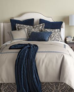SFERRA Saunders Bedding & 200 Thread Count Resort Sheets