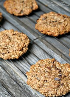 Banana and Nutella Oatmeal Cookies - Heather's French Press