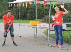 Volunteers Challenge Almere-Amsterdam 2014. Photo Erik Frings