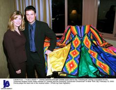 At The Relaese Party For The Joseph And The Amazing Technicolor Dreamcoat Video.Donny was my first ever crush big time.Please check out my website thanks. www.photopix.co.nz