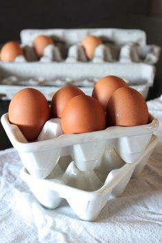 bomisch — ceramic egg crate   deviled egg server