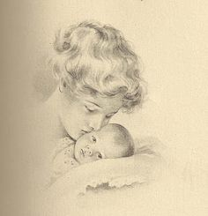sweet mother and child vintage photo Vintage Labels, Vintage Ephemera, Vintage Cards, Vintage Postcards, Vintage Pictures, Vintage Images, Painting Antique Furniture, Vintage Furniture, Vintage Illustration