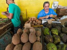 """If you travel to Cuba, stop by at the farmers market in Old Havana. It is a great example of the """"opening"""" of the Cuban economic system. - Finish the day at a local farmers market where you'll see firsthand Cuba's dual currency at work."""