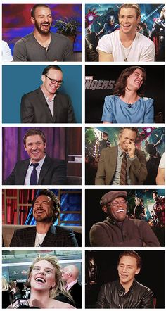 Everyone's like Bahahahahahaha!!! And Loki is like ' ya... I'm sexy...'