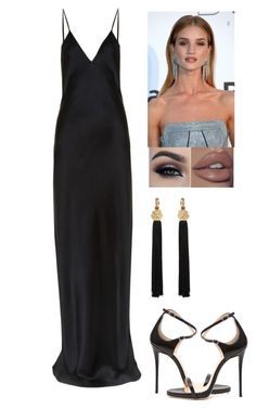 """Preforming AMAs 2017"" by llilacwine ❤ liked on Polyvore featuring Yves Saint Laurent and Giuseppe Zanotti"