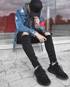 Great mens fashion trends mensfashiontrends is part of Fashion - Outfits Hombre, Tomboy Outfits, Cool Outfits, Men Looks, Men Street, Street Wear, Mode Hip Hop, Great Mens Fashion, Yeezy Outfit