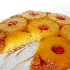 Recipe pineapple upside down cake eggless