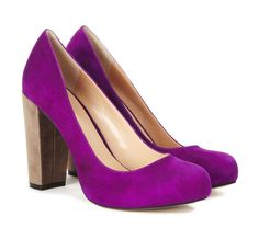 Cleo chunky heel pump...colors