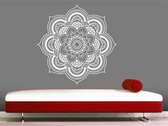 Mandala Wall Decal sticker Yoga Om Namaste Yoga decor Wall Vinyl Decal lotus Interior Home Decor meditation mandala wall art wall by VandyVinyl on Etsy https://www.etsy.com/listing/199069543/mandala-wall-decal-sticker-yoga-om