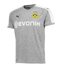 Borussia Dortmund Third Away Gray Soccer Jersey Shirt, Dortmund , cheap soccer jerseys online store Soccer Kits, Football Kits, Youth Soccer, Maillot Dortmund, German Football League, Grey Shirt, T Shirt, Talent Quotes, Nhl Jerseys