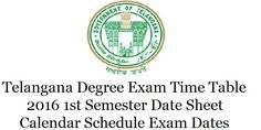 Highlights of Contents -Telangana Degree Exam Time Table 2017 Exam Fee DetailsTelangana Degree Exam Notification 2017 Telangana Degree Exam Time Table 2017 Schedule 1st Semester Date Sheet/Calendar PDF Download. There are many Universities in Telangana to which many colleges got affiliated. In these colleges many candidates got enrolled in to the first year in various branches like …