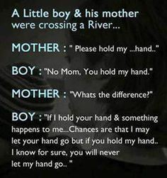 mothers and sons quotes -A mother doesn't know how to let go, for love is ever binding