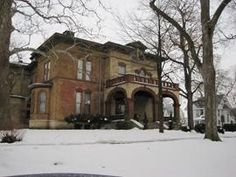 Vrooman Mansion-Bloomington, IL Bloomington Illinois, Illinois State, East St Louis, Victorian Houses, Route 66, Day Trips, Old Houses, State Parks, Places To Visit