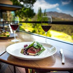 There is no finer feeling than pairing an award winning wine with a decadently delicious dish - by multi-awarding winning chef Richard Carstens. Tokara Restaurant #EATokara   For reservations call: +27 21 885 2550   www.tokara.co.za Tasty Dishes, Deli, Alcoholic Drinks, Restaurant, Wine, Food, Diner Restaurant, Essen, Liquor Drinks