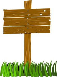 wooden sign post more clipart yahoo sign clipart camp signs wood signs ...
