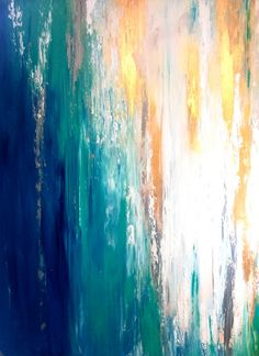huge size Original Textured Abstract Contemporary by YueJinArt