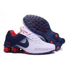 Wholesale nike shox deliver white/blue/red with wholesae prices,cheap wholesale nike shox deliver for mens running shoes from china online. Mens Nike Shox, Nike Shox Shoes, Nike Shox Nz, Nike Free Shoes, Nike Shoes Outlet, Sneakers Nike, Red Sneakers, Nike Shox For Women, Zapatillas Nike Shox