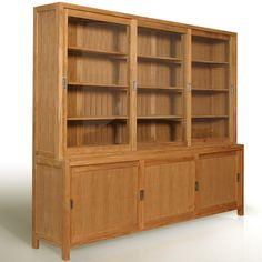 Designer Bookcases   wood bookcase 332 Wood Bookcase