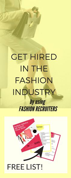 Be a Fashion Buyer Dream job, Fashion and College