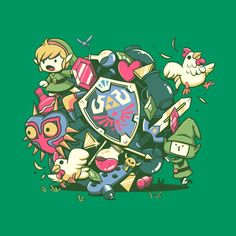 Let's Roll Link Art Print by ilustrata - X-Small The Legend Of Zelda, Legend Of Zelda Breath, Game Character, Character Design, Otaku, Katamari Damacy, Lets Roll, Day Of The Shirt, Link Art