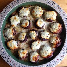 Rezept: gefüllte Champignons aus dem Backofen