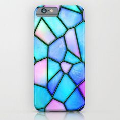 pastel stained glass iPhone Case by haroulita - Cheap Phone Cases For Iphone 6 - Ideas of Cheap Phone Cases For Iphone 6 - pastel stained glass iPhone & iPod Case Cheap Phone Cases, Cool Iphone Cases, Cool Cases, Diy Phone Case, Cute Phone Cases, Amazing Phone Cases, Cute Ipod Cases, Coque Iphone 6, Iphone 4