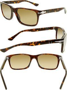 e12d7d6cb4 Sunglasses 79720  Persol Men S Polarized Po3048s-24 57-58 Tortoiseshell  Rectangle Sunglasses -  BUY IT NOW ONLY   138.87 on eBay!