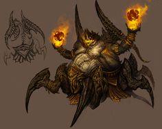 Azmodan from Diablo III