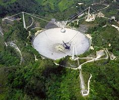 Largest Radiotelescope, Arecibo Puerto Rico