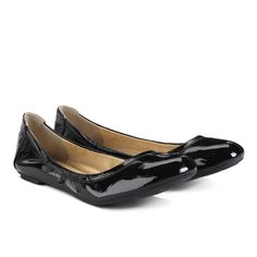 Cole Haan Manhattan Ballet flats in Black Patent leather $158