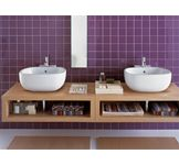 Vasque à poser collection Naos par Allia le spécialiste de la salle de bains. www.allia.fr