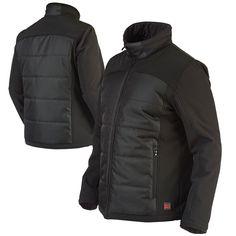 Tough Duck Mens Zip-Off Sleeve Jacket Richlu Manufacturing i8A2