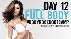It's another full body blast today! If you need to modify - do it!  Click here and we can help