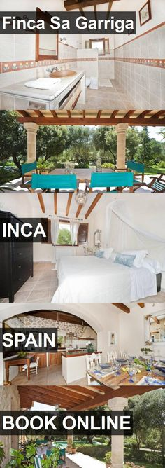 Hotel Finca Sa Garriga in Inca, Spain. For more information, photos, reviews and best prices please follow the link. #Spain #Inca #travel #vacation #hotel