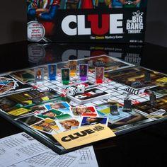 Clue big bang theory walmart