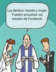 Casados y actualizados x facebook