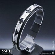 Men's stainless steel bracelet CONNOR II M-171