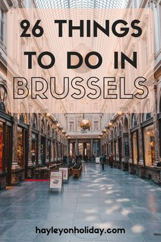 Check out this guide to discover the best things to do in Brussels, plus where to eat and where to stay. Visit Brussels / Brussels travel tips / solo travel in Brussels / solo travel in Europe / budget travel in Brussels / budget travel in Europe / travel Belgium / visit Belgium