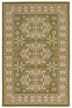 Cochin Area Rug - Synthetic Rugs - Machine-woven Rugs - Patio Rugs - Outdoor Rugs - Traditional Rugs - Border Rugs   HomeDecorators.com