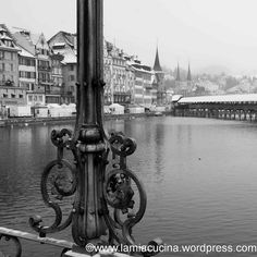 I like the east side of the lake in Lucerne in winter time.