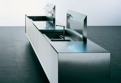 norbert wangen by boffi Boffi, Live Model, Minimalist Kitchen, Kitchen Furniture, Cool Kitchens, Interior, Organize, Architecture, Home Decor