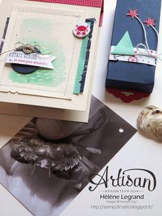 Mini album Sea street - Stampin'Up ! Artisan Blog Hop - Août # 2