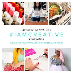 Submit your ideas to the #IAMCREATIVE Foundation by July 31st!