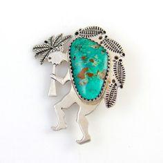 SOLD~!Vintage Navajo Sterling Silver & Genuine Fox by TJsvintagejewelry, $79.00